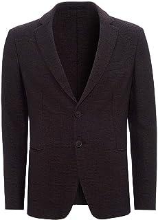 Emporio Armani Mens Tilled Pattern Blazer