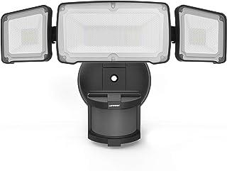 LEPOWER 35W LED Security Lights Motion Sensor Light Outdoor, 3500LM Motion Security Light, Waterproof IP65, 5500K, Full Me...