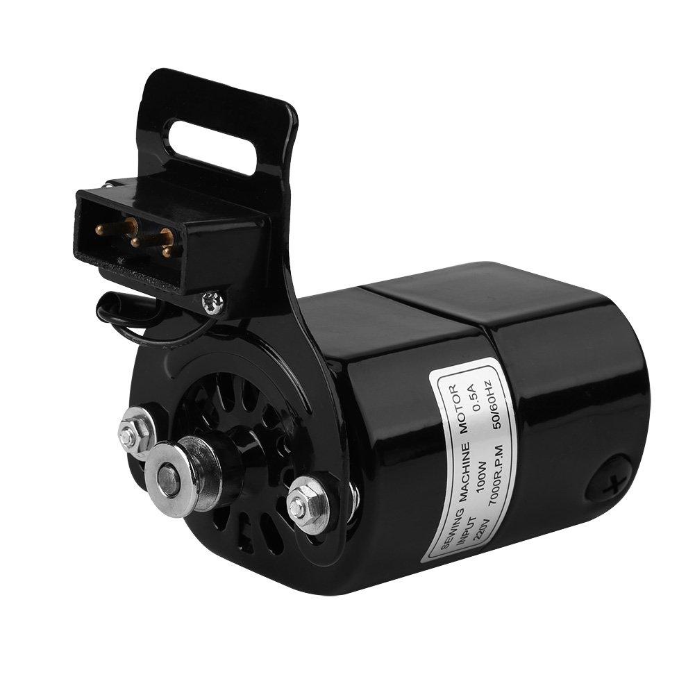 Hongzer Motor de la máquina de Coser, 1 Unids 220V 100W Motor de ...