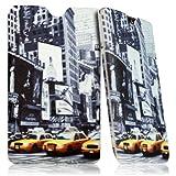 Seluxion LM01-Funda calcetín universal con diseño de Times Square para tablet Asus Memo Pad 8