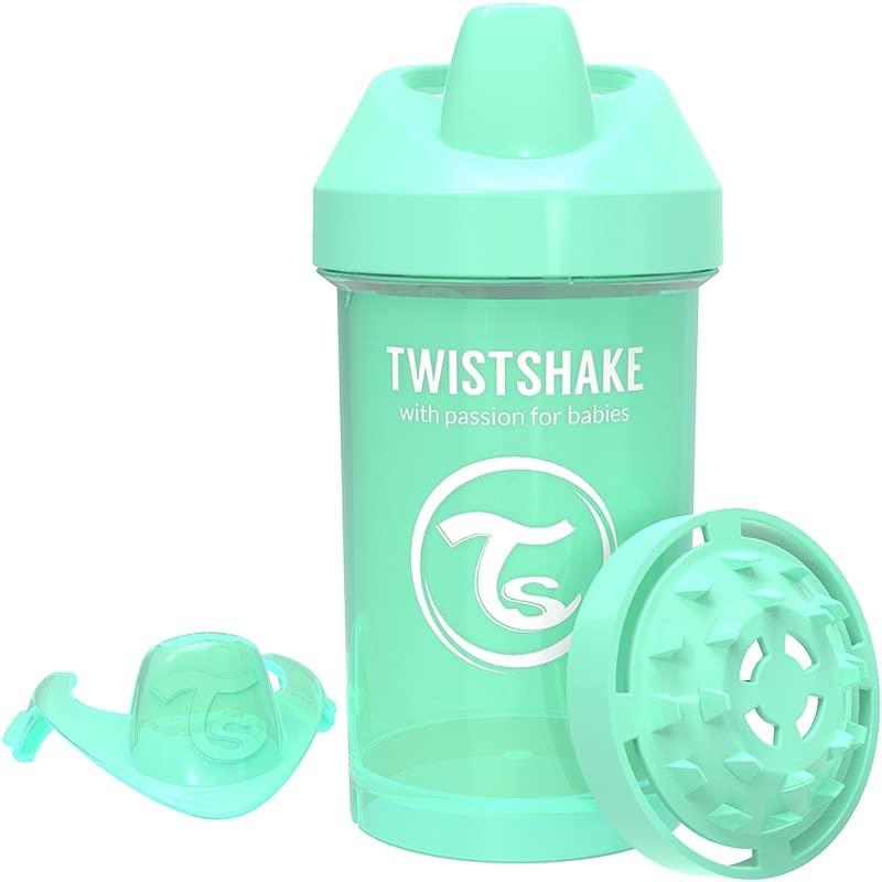 Twistshake Crawler Cup 300ml 10oz 8 M Pastel Green