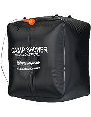WEIMALL ポータブルシャワー 簡易シャワー 野外用 シャワー 手動式 電源不要 水を入れるだけの 簡易シャワー アウトドア キャンプ 災害時 海水浴 BBQにおススメ
