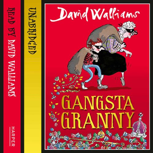 Gangsta Granny audiobook cover art