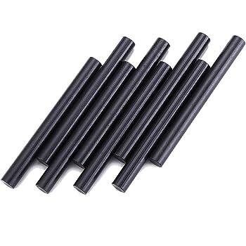 FOSTAR 8PCS Survival Ferro Rod Flint Fire Starter Rods, 5/16 X 3.15 Inch Magnesium Fire Steel Rods