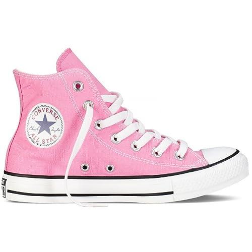 17b8cd73088fba Converse Unisex Chuck Taylor Hi Top Canvas Shoes Pink