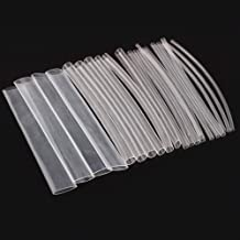 5 mtrs Thin Wall Lay Flat PVC Heat Shrink Wrap Tubing HLAT 47mm - Clear