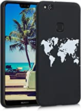 kwmobile TPU Silicone Case Compatible with Huawei P10 Lite - Soft Flexible Shock Absorbent Protective Phone Cover - Travel...