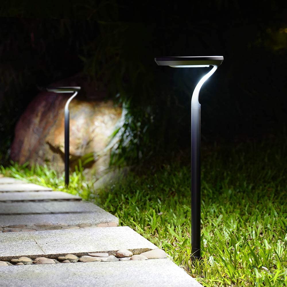 Solar Lights High order Outdoor Pathway Path Be super welcome Waterproof Patio Adjust Garden
