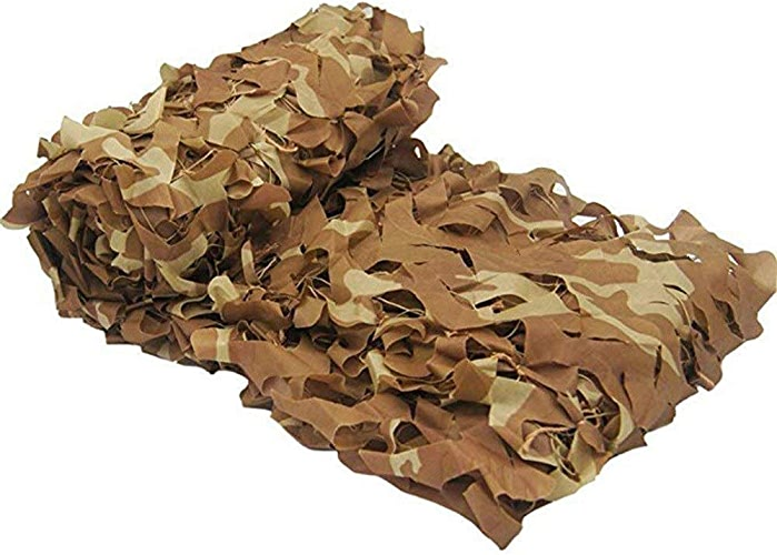 Camouflage parasol Désert Filet De Camouflage Regarder Invisible Filets Camo Des Bois Tir Aveugle Cacher Décoration De La Maison De L'arbre (Taille   5x6m)