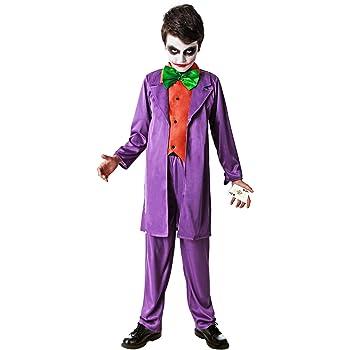 DYSMAD Gojoy Shop- Disfraz de Arlequín Asesino para Niño para ...