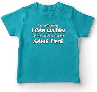 lepni.me Kids T-Shirt I'm Multitasking, Sarcastic Gift, Funny Quote