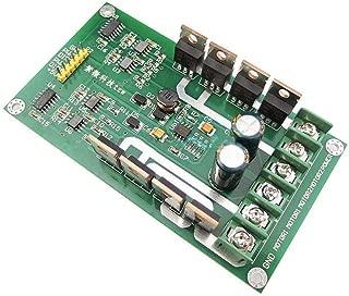 Romsion Dual Motor Driver Module Board H-Bridge DC MOSFET IRF3205 3-36V 10A Peak 30A(Green Board)