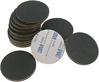 ALIMITOPIA Furniture Glide Gripper,Stick-on Felt Slider Bumper Pad Floor Protector for Chair Table Sofa Appliances or Artware(16pcs,Round,Φ50mm or 2