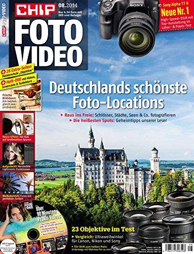 CHIP FOTO-VIDEO mit DVD: 132 Seiten Foto-Praxis, Tests, Bildbearbeitung plus Beileger Foto-Meisterschule und DVD.