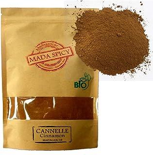 """Canela """"ceylan"""" organica en polvo de Madagascar 500g """"Alta Calidad"""". Bolsita eco cierre zip."""