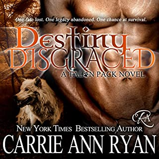 Destiny Disgraced audiobook cover art
