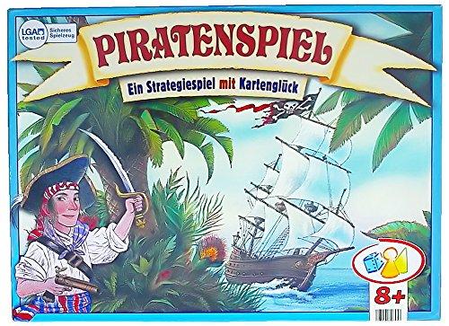 Piratenspiel Ein Strategiespiel mit Kartenglück