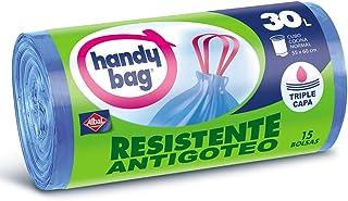 Handy Bag Bolsas de Basura, Extra Resistentes, No Gotean
