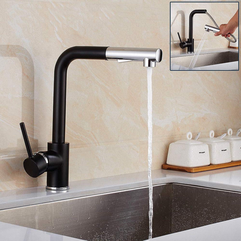Generic Wasserhahn Waschbeckenarmatur mit ausziehbarem Griff und schwenkbarem Auslauf, Chrom