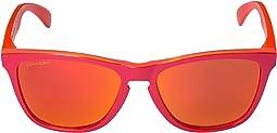 Matte Red Trans Orange w/ Prizm Ruby