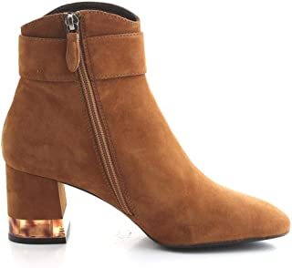 Bruno Premi Luxury Fashion Womens 1601XROVERE Brown Ankle Boots | Fall Winter 19