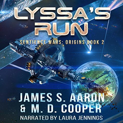 Lyssa's Run audiobook cover art