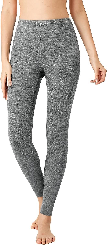 LAPASA Women's 100% Merino Wool Great interest Midwe Layer New color Pants 250g Base