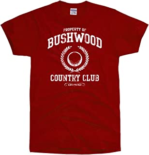 Men's Bushwood Country Club Funny Retro Golf T Shirt RED