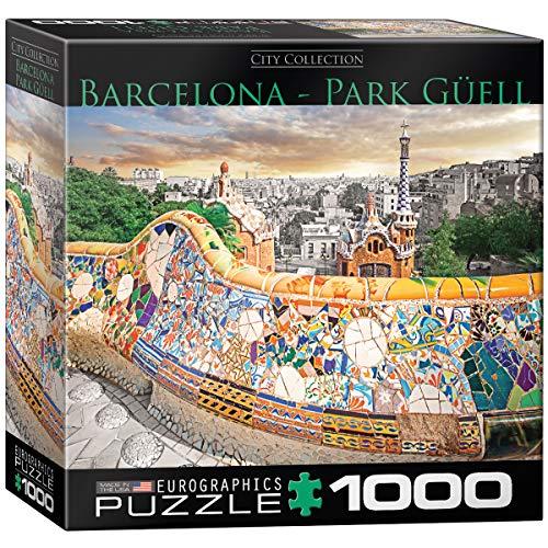 Eurographics 8000-0768 - Puzzle (1000 Piezas), diseño de Barcelona Park Güell