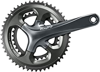 SHIMANO Tiagra 10-Speed Double Road Bicycle Crank Set - FC-4700