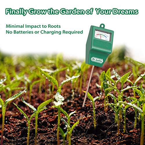 Dr.meter Hygrometer Moisture Sensor for Garden