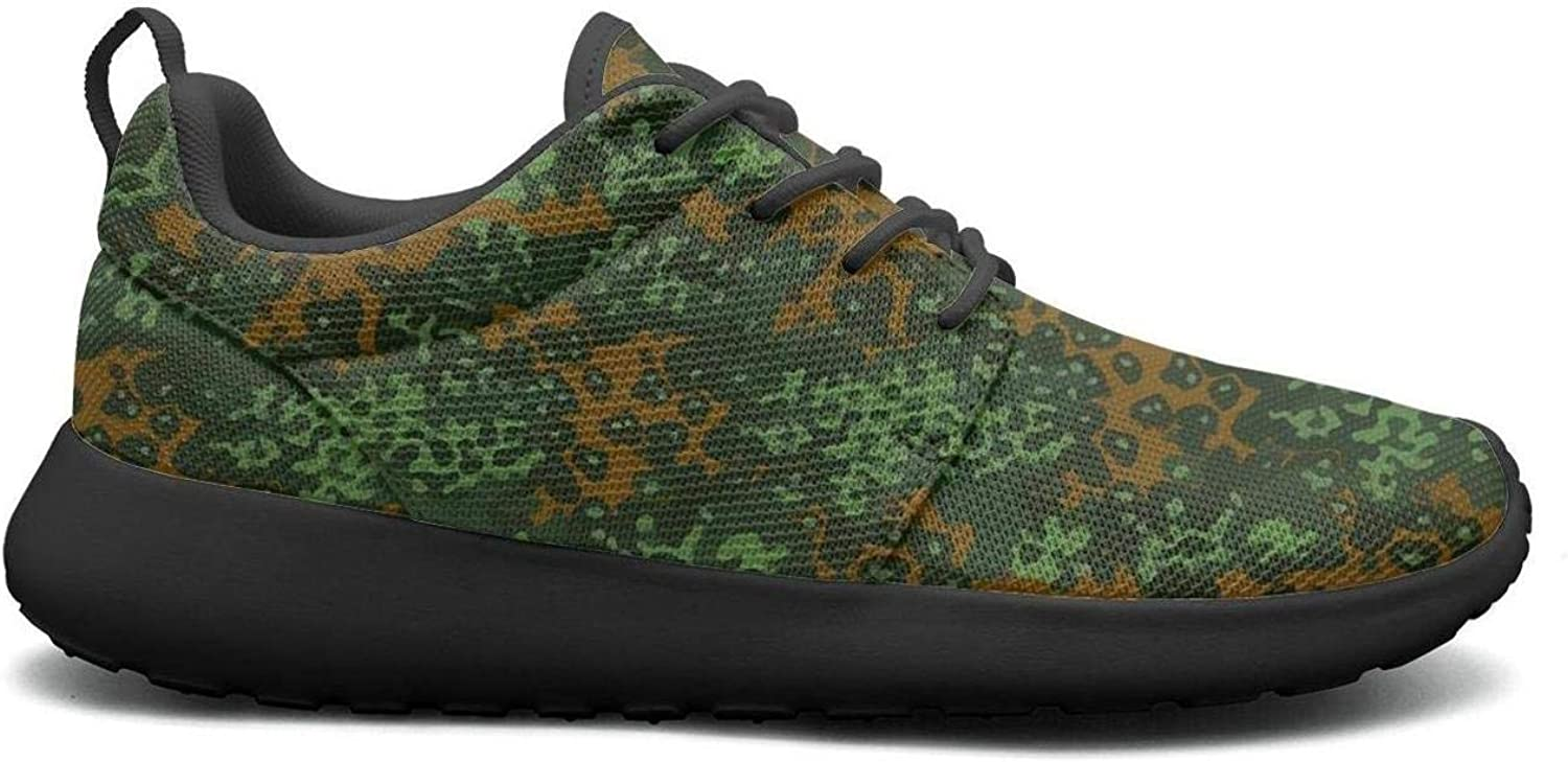 Wuixkas Camouflage Army Womens Lightweight Mesh Sneakers Cool Sports shoes