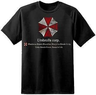 Resident Evil – Umbrella Corporation – obediencia Envejecido T Shirt (S-3 X L) Capcom