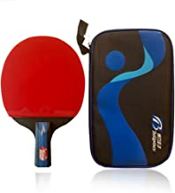 Boliprince Professional Five Plies Carbon Fiber Table Tennis Racket Chinese Ping Pong Paddle