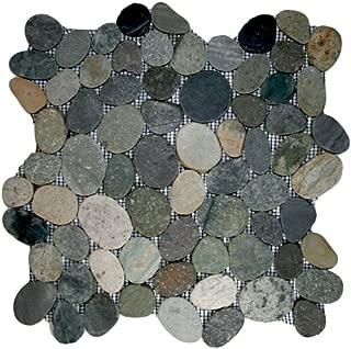 Best flat pebble stone tile Reviews