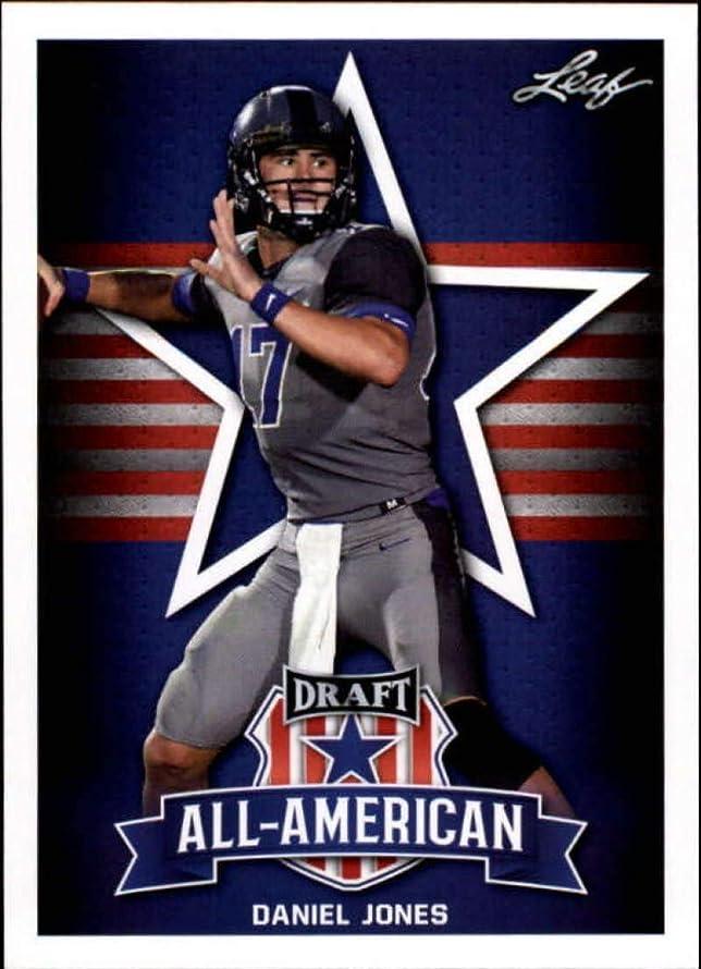 2019 Leaf Draft Football RC Rookie Card #70 Daniel Jones All-AmericanDuke Blue Devils