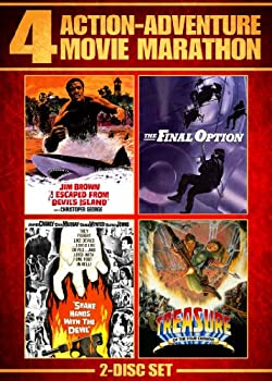 Action-Adventure 4-Movie Marathon  I Escaped from Devil s Island / The Final Option / Shake Hands with the Devil / Treasure of the Four Crowns