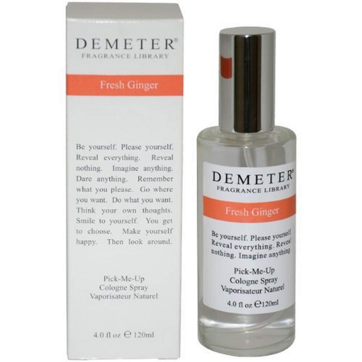 Demeter Unisex Cologne Spray store Soldering Ginger Fresh Ounce 4