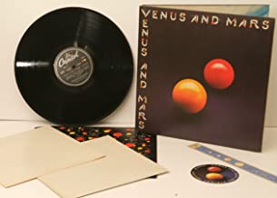 PAUL McCARTNEY. WINGS. Venus and Mars. COMPLETE WITH 2 POSTERS and TWO STICKE...
