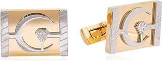 Diamond Moon Stainless Steel Cufflinks for Men, Stainless Steel - 1800541240462
