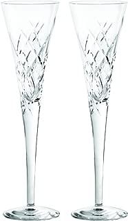 Vera Wang Wedgwood 5830190045 20th Anniversary Duchesse Encore Clear Flutes Pair