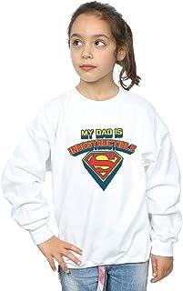 DC Comics Girls Superman My Dad Is Indestructible Sweatshirt