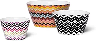 Missoni for Target Set of 3 Ceramic Stoneware Mixing Prep Bowl