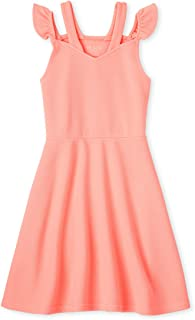 فستان ذا تشيلدرنز بليس بدون أكمام مناسبة خاصة