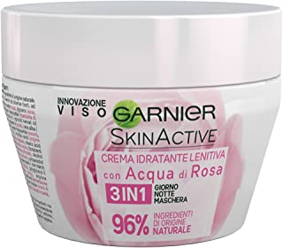Garnier, SkinActive, Soothing 3-in-1 Moisturizer, Day & Night Mask, with Rose Water, 200 ml (6.75 fl oz) (Packaging may vary)