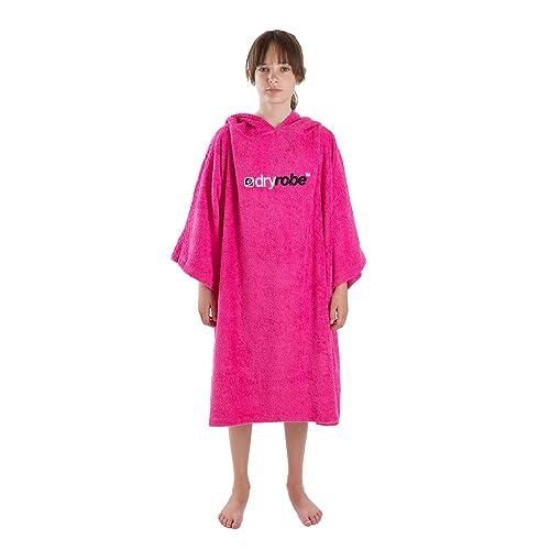 472d2bd6b2 Dryrobe Kids Beach Towel Changing Robe - Short Sleeve Towelling Change  Poncho Dry Robe One