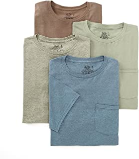 Men's 4-Pack of Pocket T-Shirts