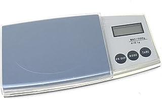 Báscula electrónica digital de precisión con pantalla LCD de 0,1 a 500 gramos
