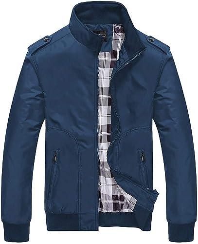 New Bapa Sitaram Men S Coats Jackets Men S Autumn Winter Casual Fashion Pure Color Patchwork Jacket Zipper Outwear Coat