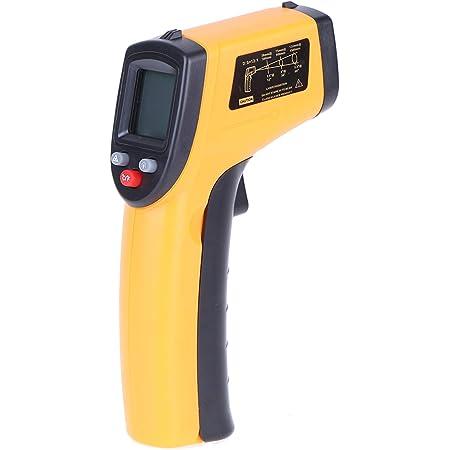 Kkmoon Digitales Infrarot Thermometer 50 380 C Pyrometer Berührungslos Temperaturmessgerät Temperaturmesser Mit Lcd Beleuchtung Auto